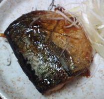 サバの黒酢煮の簡単料理レシピ画像