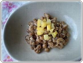 塩レモンの作り方と使い方&塩レモン作ってみました、塩レモンと納豆画像