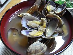 中華風アサリ汁の簡単料理レシピ画像